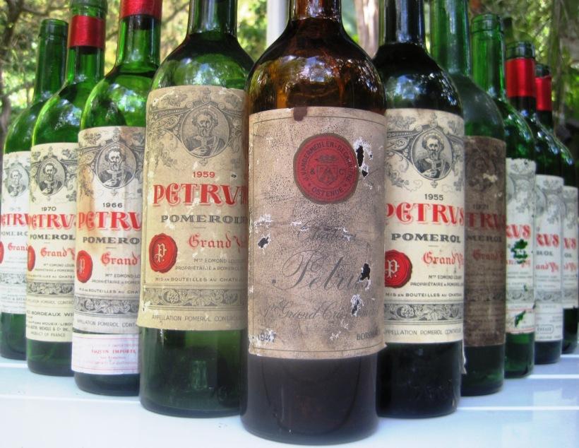 Petrus-bottles